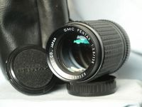 Pentax SMC Pentax K 135mm 3.5 Prime Portrait Lens Cased - Nice - Great Bokeh